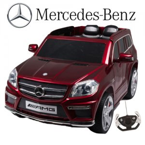 Licensed GL63 Mercedes 4x4 12v Jeep with Gloss Paint