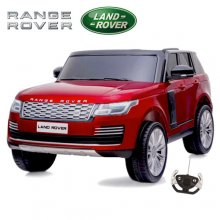 Licensed Red 24v Range Rover Vogue 2 Seat 4WD Kids Jeep
