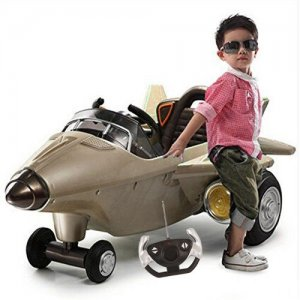 12V Kids Battery Powered Ride-in Fighter Jet Plane