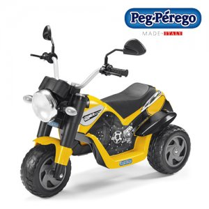Peg Perego Kids 6v Electric Mini Scrambler Bike