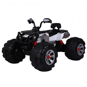 Polaris Style Kids 24v 4WD Sit-On Battery Powered Quad Bike