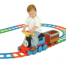 6v Ride on Thomas The Tank Engine Track & Train Toy