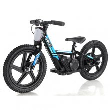Kids 24v Revvi Grande XL Lithium Blue Dirt Bike Ride On