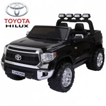 Licensed Wide Two Seat Toyota Hilux Kids 12v Pick Up Truck