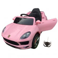 12v Pink Porsche Jeep Style Ride on car with Remote