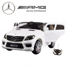 12v Ride-on Licensed Mercedes ML63 AMG Jeep with Remote