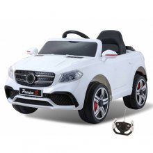 Ice White Mercedes GLC Style Kids 12v Ride On SUV