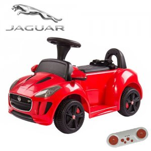 Licensed Jaguar F-Type 6v Sit-In Toy Car with Remote