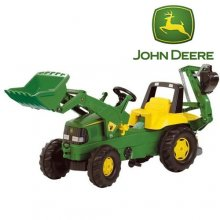 Rolly John Deere Pedal Tractor with Digger Arm
