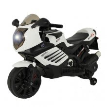 Kids 12v Sit On Electric Super Bike with Stabilisers