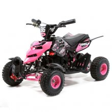 Ultimate Girls Pink 36v 3 Speed Off Road Electric Quad Bike