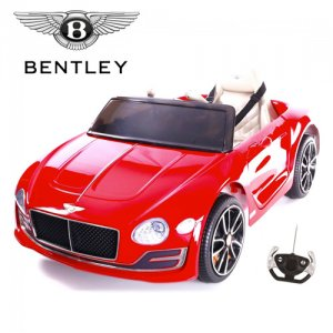 Licensed Red 12v Bentley EXP-12 Kids Ride On Car with Remote
