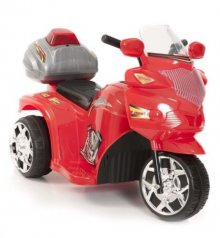 Kids Racing Red 6v Superbike Tricycle Sports Ride On