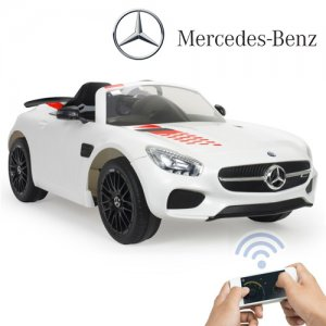 Kids 12v Injusa Luxury Mercedes GT-S Ride On Car with Remote