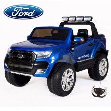 12v New Shape Official Ford Ranger 2 Seater Kids EVA Tyre Truck