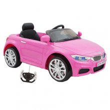 Kids 12v Pink BMW M4 Style Ride On Coupe