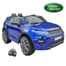 Metallic Blue Special 12v Kids Land Rover Discovery Jeep