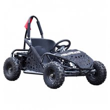 1000w All Black 48v Electric Kids Racing Buggy