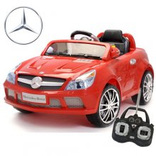 Red Mercedes 12v AMG SL65 Kids Electric Car