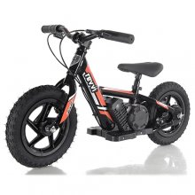 Revvi Kids Orange 24v Mini Off Road Lithium Bike