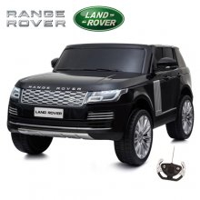 Kids 24v Black Official Range Rover Vogue 2 Seater 4WD Jeep