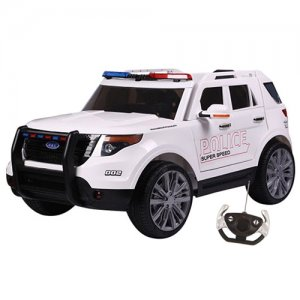 American Ford Style Police Interceptor 12v Ride On Patrol Jeep