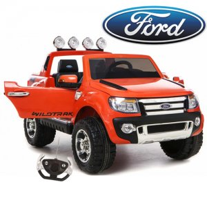 Official Orange 12v Ford Ranger Ride on Truck SE With EVA Tyres