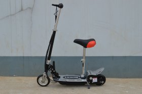 24v 140 Watt Sit On Adjustable Removable Seat E-Scooter