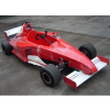 Kids Racing Red Realistic 110cc Petrol Formula 1 Car