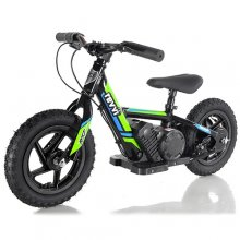 Kids Green Revvi Off Road 24v Lithium Ride On Bike