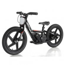 Kids Black Revvi Grande 24v XL Lithium Off Road Balance Bike