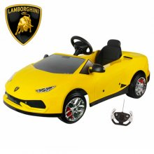 12v Official Yellow Lamborghini Huracan Kids Ride On Car