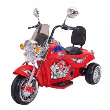 12v Kids Ride-On Hot Rod Chopper Motorcycle
