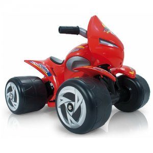 Injusa Alien Red 6v Toddlers Ride On Quad Bike