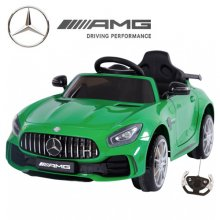 Official Mercedes Special Edition Green GT R Kids 12v Car