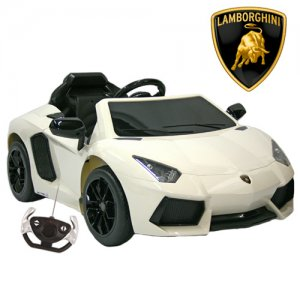 12v Twin Motor Lamborghini Aventador Sport With Bluetooth Remote