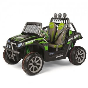 24V Italian Made 2019 Polaris Ranger RZR Green 2 Seat Jeep