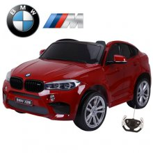 Official X6M BMW Red Large 2 Seat Kids Electric 12v Ride On Jeep