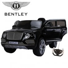 12v Licensed Black Bentley Bentayga SUV Kids Ride On Jeep