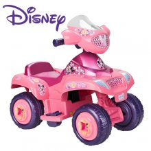 Pink 6v Official Disney Mickey Mouse Clubhouse Girls Quad Bike