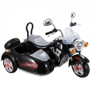 12v Harley Style Kids Electric Motorbike with Sidecar