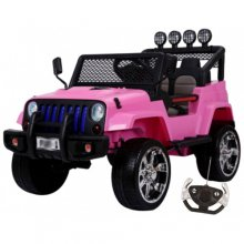 4 Wheel Drive SUV Pink Outback 12v Kids Jeep