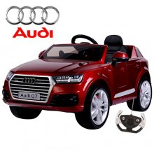 New Shape Official Audi Q7 Kids 12v Ride On Jeep with Remote