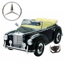 Licensed Mercedes 300S 12V Ride-on Wedding Car with Leather Seat