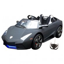 12v Wide Seat Matte Black Limited Edition Lambo Style Roadster