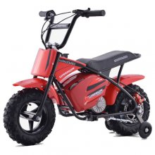 New Design 24v Kids Red 2020 Off Road Retro Monkey Bike