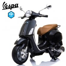 Licensed Kids Vespa Ride On Primavera 12V Mod Style Moped