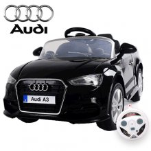 12v Licensed Ride-on Audi A3 Duel Motor, Suspension & Remote