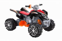 Cool Night Black 12v Kids Mega Quad Bike