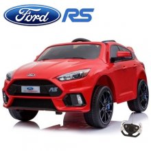 Red Ford Focus RS 12v Kids Official Ride On Car